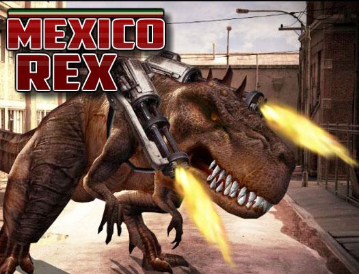 لعبة الديناصور القاتل