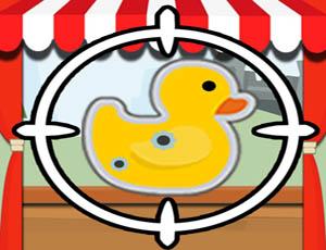 لعبة صيد البط الممتعة