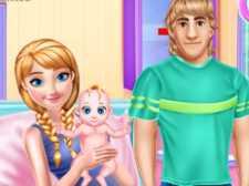 Anna grávida e cuidados com o bebê