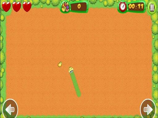 لعبة ثعبان الفاكهة