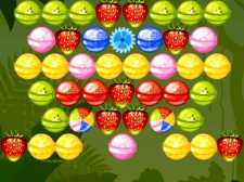 Bubble Shooter Fruits Candies