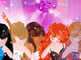 لعبة تلبيس الأميرة داب للفتيات