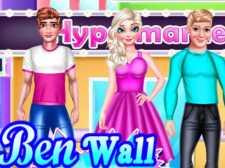 Diseño de pintura de pared Ben