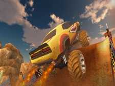 Ultimate MMX Heavy Monster Truck: Police Chase Racing