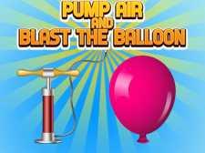 泵送空气并吹气球