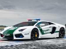Politi biler puslespill