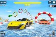 Carreras de acrobacias de coches acuáticos