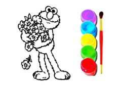 Boy Doll Coloring Book