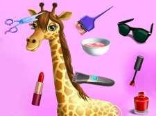 Salon de coiffure de mode animale