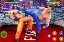 健美搏击俱乐部摔跤比赛