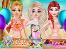 Traje de baño de verano de moda princesa