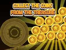 从宝藏中收集硬币