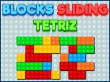 Block som glider Tetriz