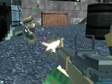 Piksel Gun oyunu Arena Hapishanesi Çok Oyunculu
