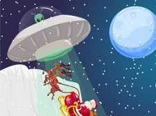 Christmas Santa Claus Alien War