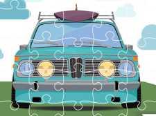 Пазл ретро автомобили