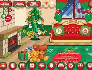 لعبة تزيين حفلة عيد الميلاد