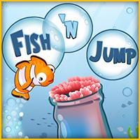 لعبة قفز السمك