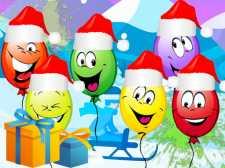 圣诞气球爆裂