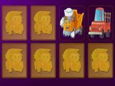 Cartoon Trucks Memory