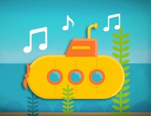 لعبة غواصة الموسيقى