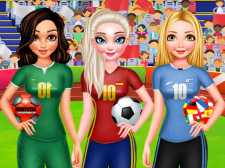 Bff Princess Vote For football 2018