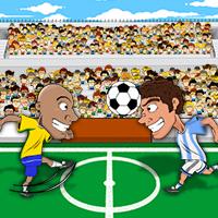 لعبة كرة القدم المضحكة