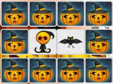 Hafıza Çocuklar Halloween oyunu