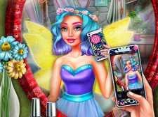 Gracie Fairy Selfie