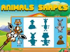 Animals Shapes for kids Education