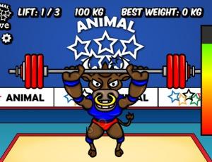 رفع الأثقال للألعاب الأولمبية الحيوانية