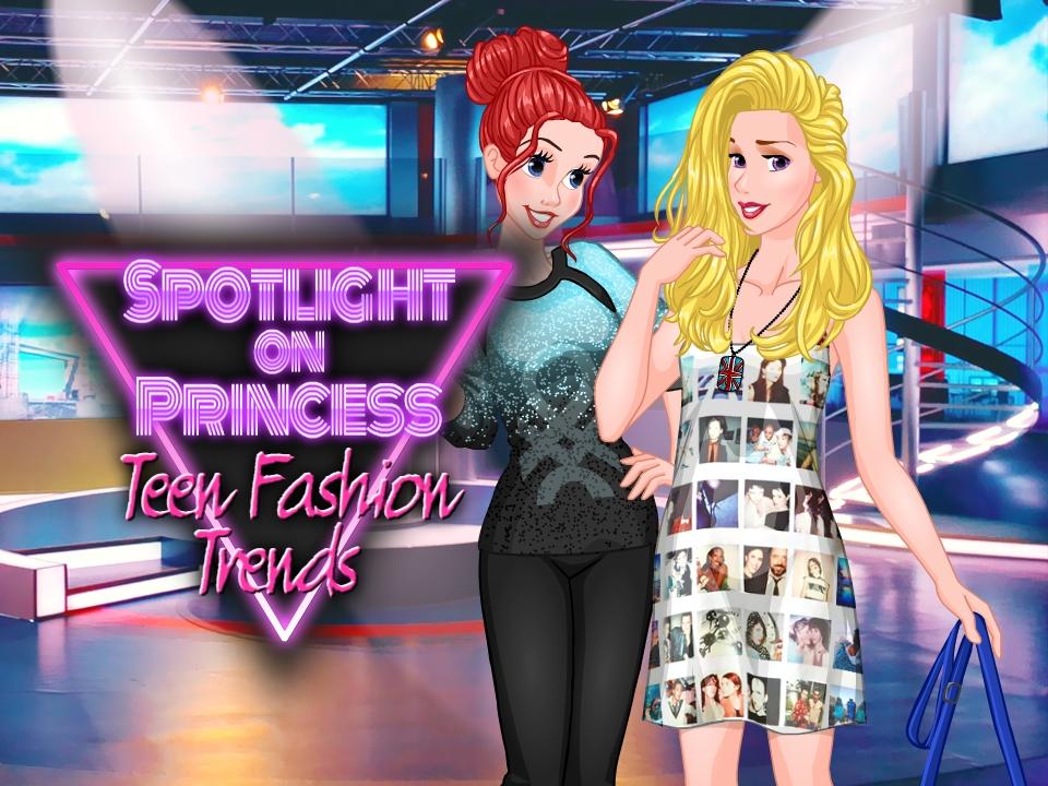 لعبة أزياء الأميرة في سن المراهقة
