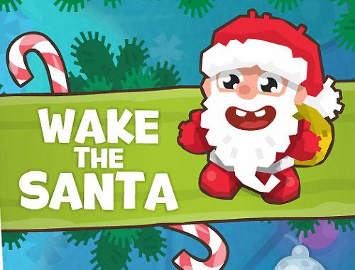 لعبة استيقظ بابانويل