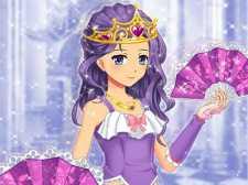 Juego de vestir princesa de anime