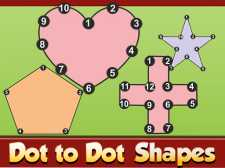 Dot to Dot Shapes Kids Education