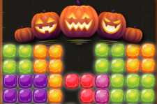 Candy Puzzle blockerar Halloween