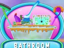 Salle de bain propre et déco