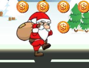 لعبة بابانويل والهدايا