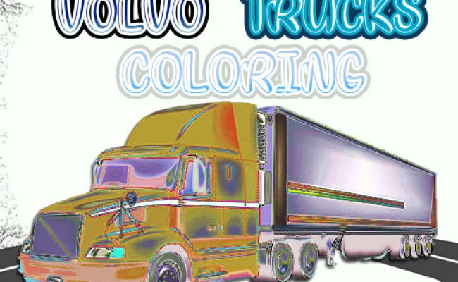 Volvo Trucks Coloring Play Game Online Free At Free