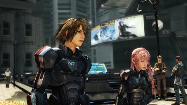 Final Fantasy Meets Mass Effect In This Amazing DLC Crossover