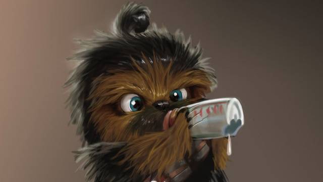 Pizza Wallpaper Cute Baby Chewbacca Isn T Too Cute To Rip Your Arm Off But He