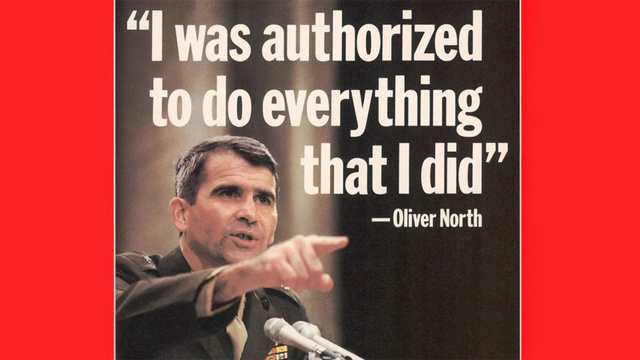 Oliver North Sold Weapons to Iran. Now He's Selling Call of Duty.