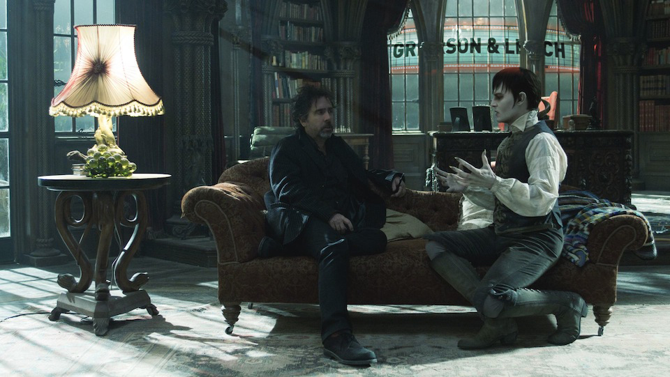 Tim Burton and Dark Shadows