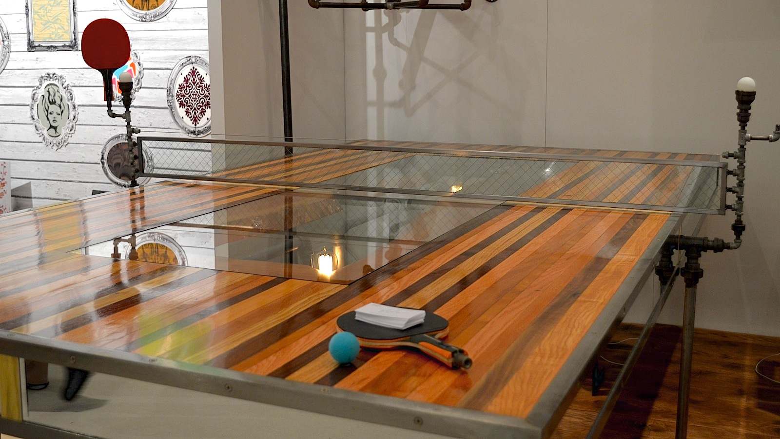 This Crazy Ass Ping Pong Table Took 400 Hours To Build