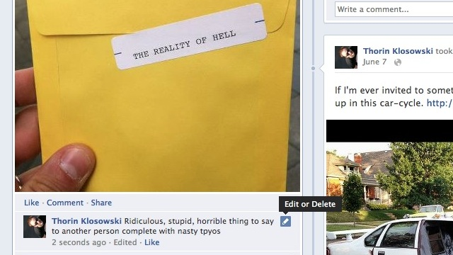 Click here to read You Can Now Edit Your Comments on Facebook