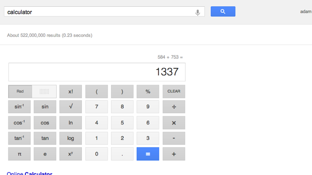 Google's Search Calculator Is Your New Go-To for Quick Arithmetic