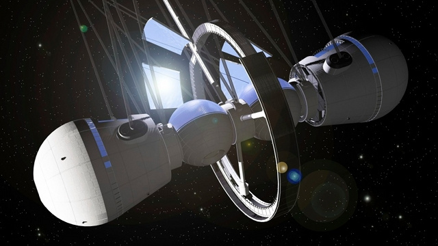 How Self-Sustaining Space Habitats Could Save Humanity from Extinction