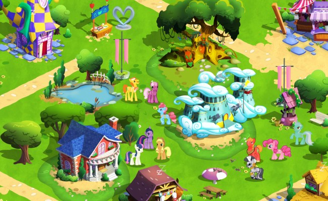 The My Little Pony Friendship Is Magic Video Game