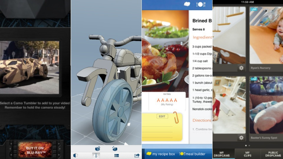 Click here to read Dropcam, Butterball Cookbook Plus, and More