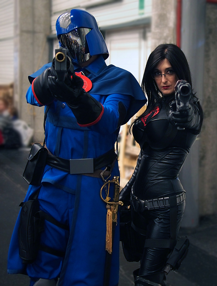 Wallpaper Gaming Girl These G I Joe Cosplayers Are Real Internet Heroes